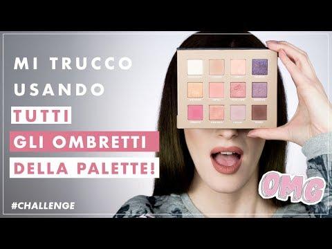 mi-trucco-usando-tutti-gli-ombretti-della-palette-😱-#challenge