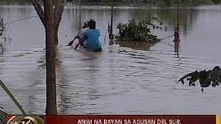 24Oras: 6 na bayan sa Agusan del Sur, isinailalim sa state of calamity dahil sa baha