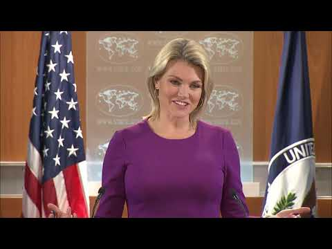 Heather Nauert Department Press Briefing on President Donald Trump News - October 12, 2017
