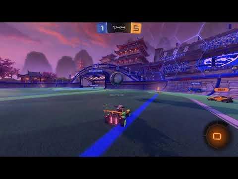 Rocket League beginner gameplay