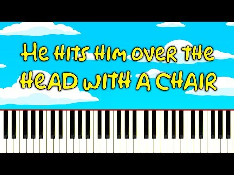 You'll never guess what Bart does to Homer in this piano tutorial...