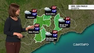 Previsão Grande SP – Friozinho persiste