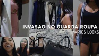 INVADI O GUARDA ROUPA DA RAYANE / Marcela Maria