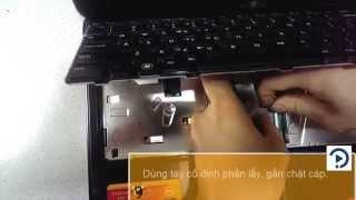 Hướng dẫn thay bàn phím cho laptop - Dell 3420