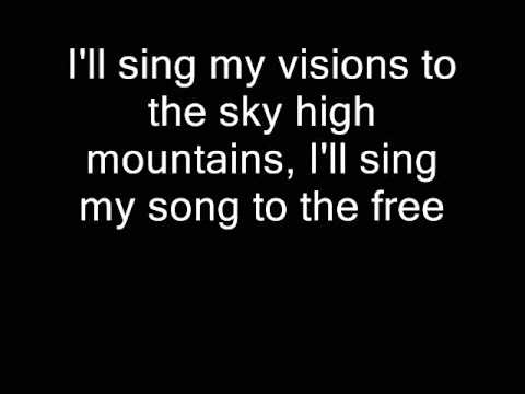 The Who - The Song Is Over (Lyrics)