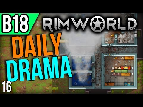 RimWorld Beta 18 | Good Attackers (Lets Play RimWorld / Gameplay part 16)