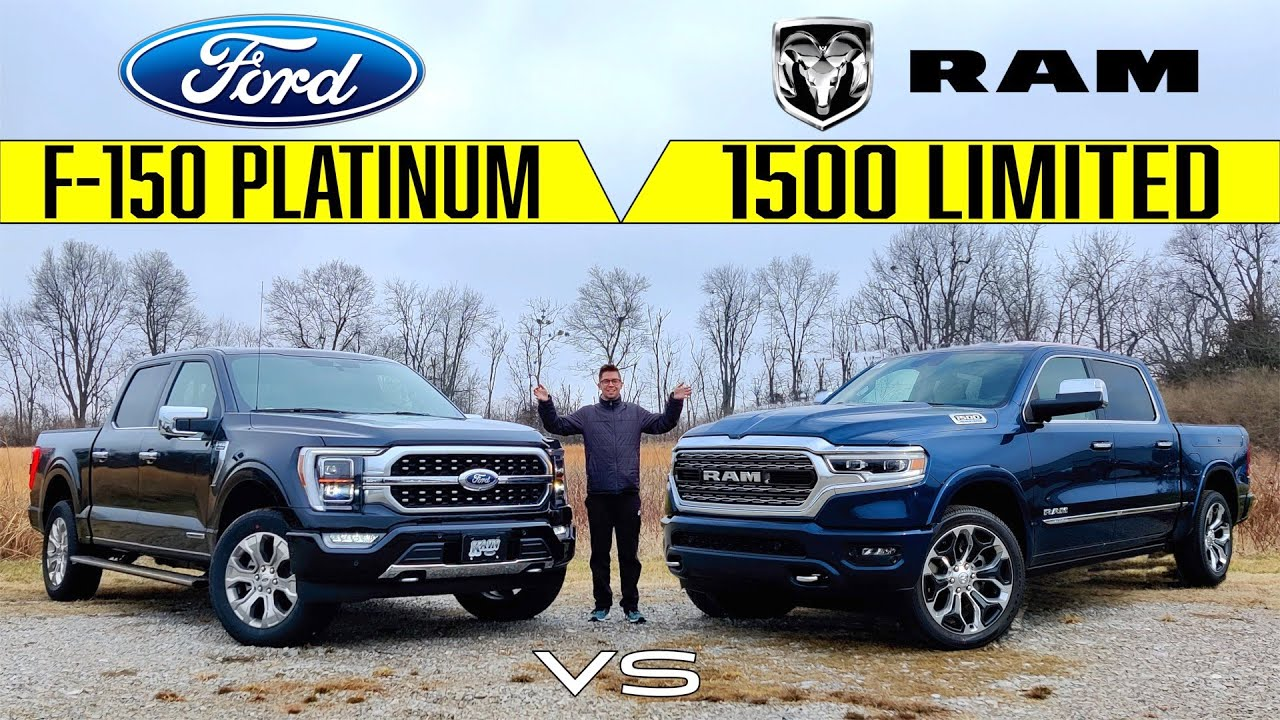 Owners should check the vehicle's service manual to find out which type of oil (and sometimes the brand) the manu. Kings Of Luxury 2021 Ford F 150 Platinum Vs 2021 Ram 1500 Limited Comparison Youtube