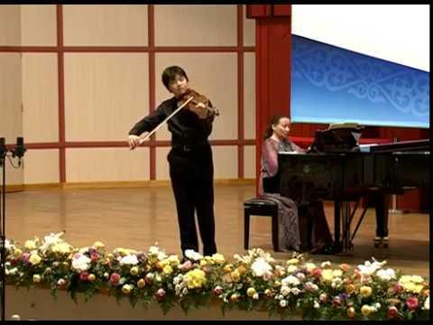 Eugene Kawai | Mozart | Violin Sonata No. 22 | 1st Mvt | 2017 International Tchaikovsky Comp