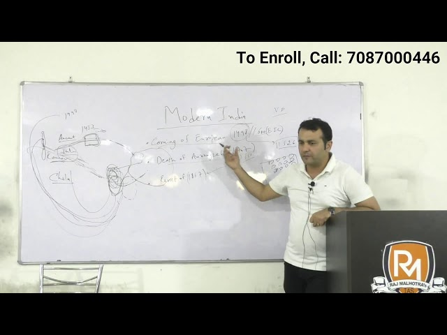 IAS 2020 - Early Starter Batch - Demo Lecture 1 - Modern Indian History - IAS Online Coaching