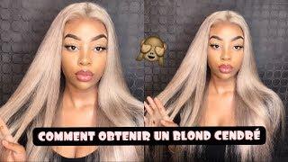 COMMENT OBTENIR UN JOLIE BLOND CENDRÉ RAPIDEMENT ft ISEE HAIR ON ALIEXPRESS