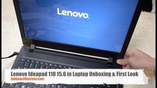 Lenovo Ideapad 110 15.6 in Laptop Unboxing & First Look
