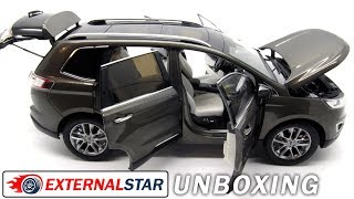 Unboxing of 1:18 Ford Edge + detailed diecast review