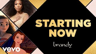 Brandy - Starting Now (Lyric Video)