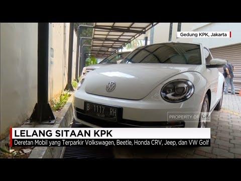 KPK Lelang Barang Sitaan, Mobil Mewah Dijual