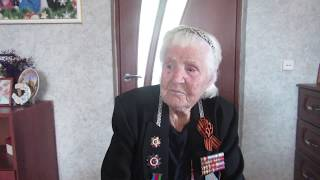 """""""Победа - это..."""" - Позднякова Анна Егоровна - житель села Белая Глина, ветеран ВОВ."""