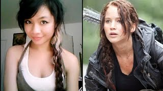 Katniss Everdeen Side Braid
