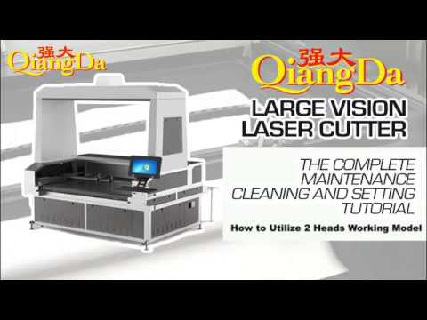 05 DOUBLE HEADS INSTALLATION - QIangDa Vision Laser Cutter Guide Series