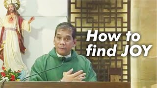 FINDING JOY IN YOUR HEART | Homily by Fr. Weyms Sanchez, SJ