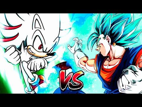 VEGITO BLUE VS HYPER SHADIC!!!! Sprite Battle Of Legends Part 4   EPIC!!!   Sonic Sprite Animation