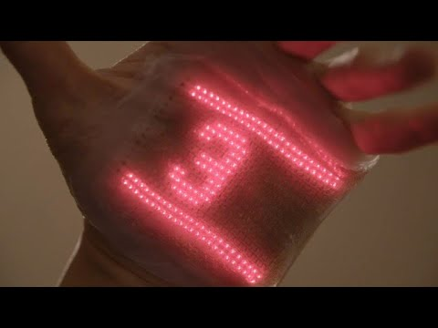 Japan scientists invent 'electronic skin' to monitor health