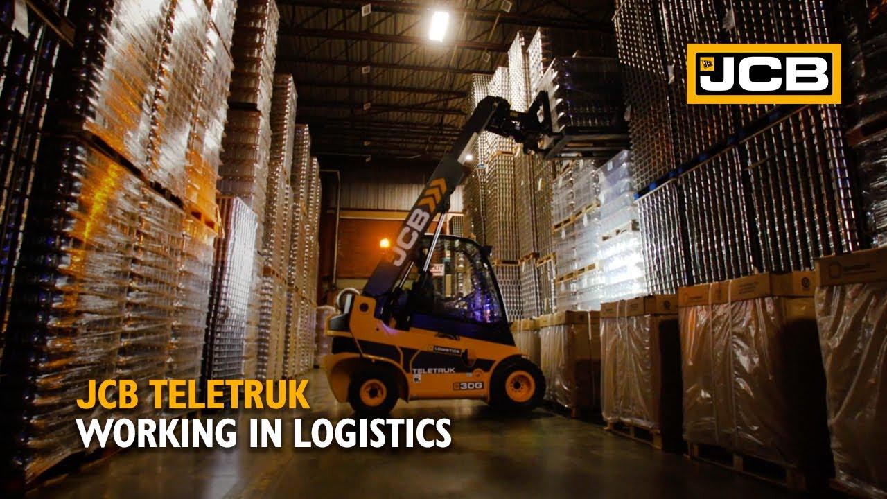 JCB Teletruk working in Logistics