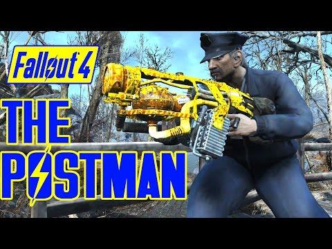 Fallout 4 - THE POSTMAN BOSS & Propulso 5000 Gun - EPA Weird Weapons WackyPak Mod - XB1 PC