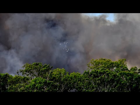 Residents Told To Take Immediate Shelter In SA As Fire Burns Out Of Control