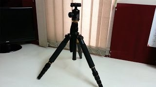 Unboxing - Q666 Travel Tripod