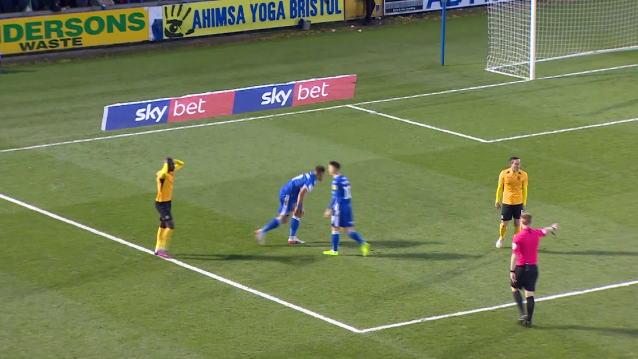 Бристоль Роверс  4-2  Саутенд Юнайтед видео