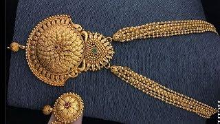 Gold Short Light Weight Necklace Designs 2019