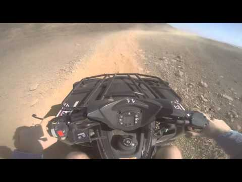 Quad biking in the desert, Cape Verde