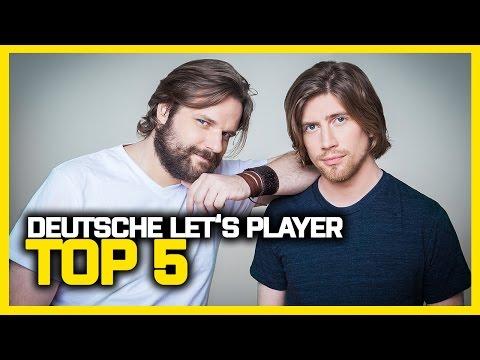 TOP 5 der größten Let's Player Deutschlands | TOP LISTS