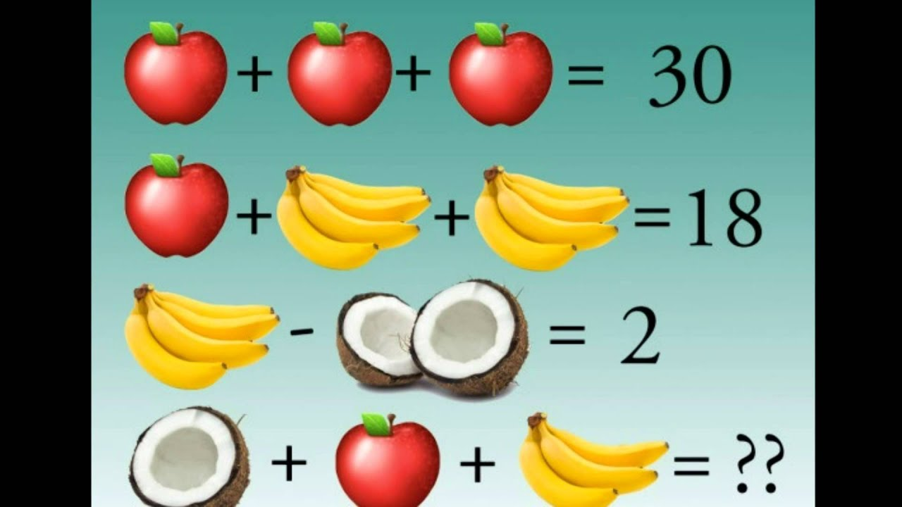 Fruity Brain Teaser \