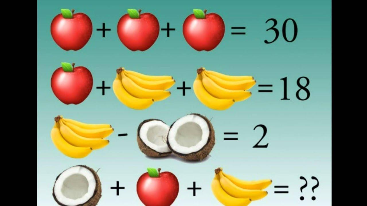 Fruity Brain Teaser \
