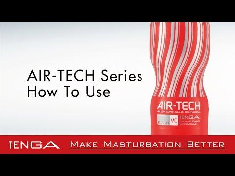 TENGA AIR-TECH Series - How To Use