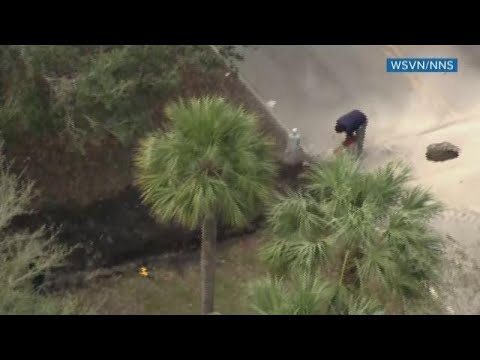 Underground tunnel found in Florida, FBI suspects it might lead into bank