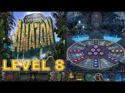 Big Fish Games: Hidden Expedition: Amazon (2008) - Level 8 - Ball Puzzles (HD 1080p)