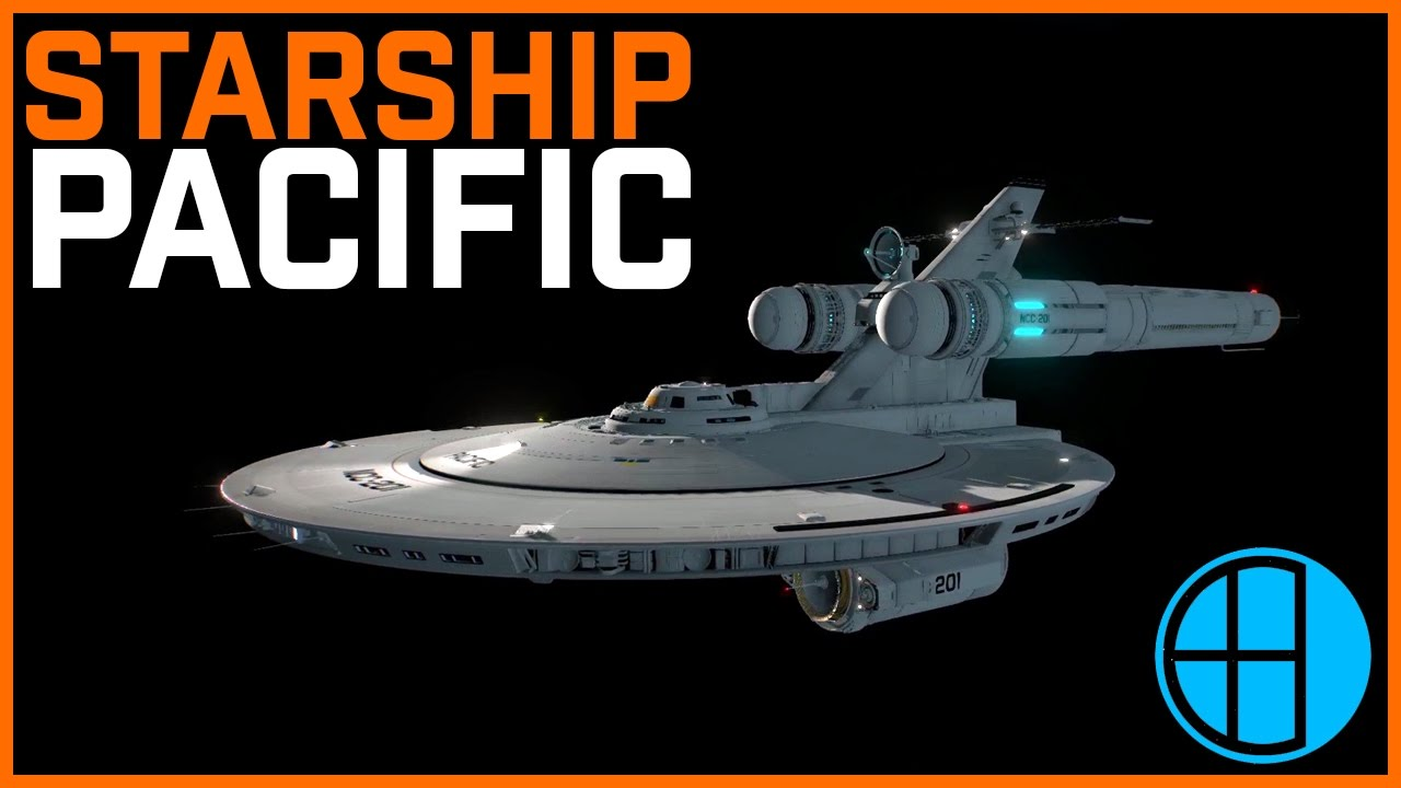 Show and Tell: Starship Pacific from Pacific 201 (Star Trek fan film)