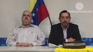 Rueda de prensa de José Luis Santa María y Vasco Da  Costa