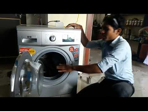 IFB Washing Machine Demo Hindi