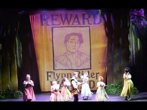 """""""Wanted Man"""" new song debut - Tangled: The Musical on Disney Cruise Line Disney Magic"""
