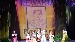 """Wanted Man"" new song debut - Tangled: The Musical on Disney Cruise Line Disney Magic"