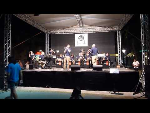 Jazz Project ( band from Cacak/Serbia) Elmhurst College Jazz Orchestra (Chicago/USA) In Subotica