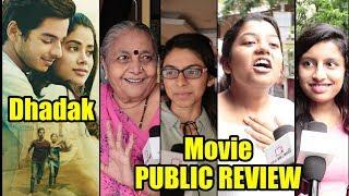 Dhadak Public Review | First Day First Show Review | Ishaan Khattar & Jhanvi Kapoor