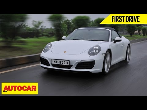 Porsche 911 Carrera S First Drive Autocar India Youtube