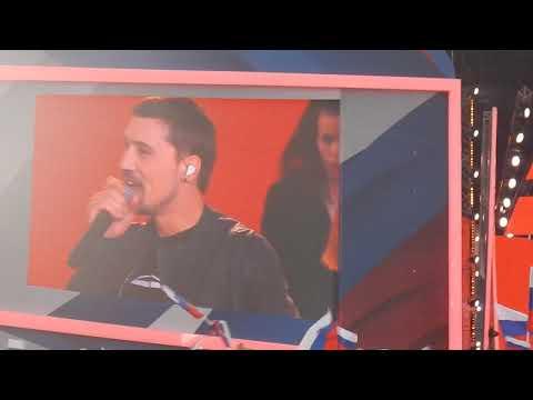 Дима Билан и Алексей Воробьев концерт на Красной площади, День России 12.06.2019