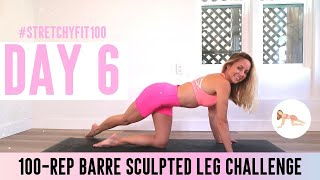 GET SCULPTED LEGS IN 30 DAYS CHALLENGE! Day 6: 100 Rainbow Bright #StretchyFit100