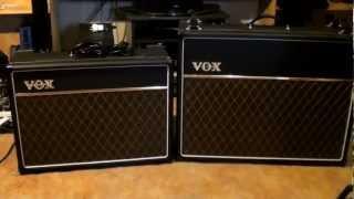 vox ac30c2 vs vox ac15c1 amplifiers