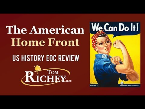 The American Home Front In WWII (US History EOC Review - USHC 7.2)