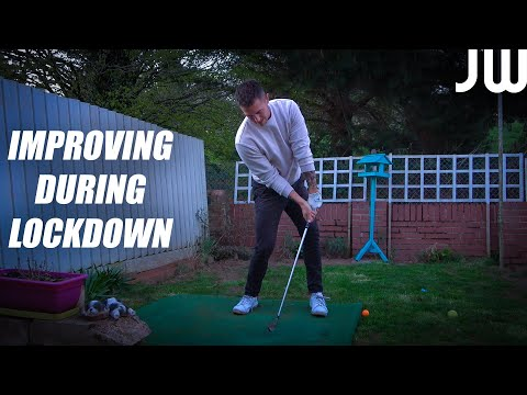 How I'm Still Improving My Golf Swing During Lockdown…